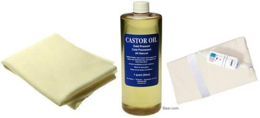 how to make a castor oil pack